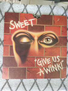 Give us a Wink - The Sweet Vinyl  Hard Rock