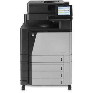 HP Colour LaserJet Flow MFP M880z, M880 A3 A4 Printer High Toner Level, WARRANTY