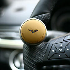 Mini Compact Car Steering Wheel Spinner Knob Auxiliary Aid Control handle Brown