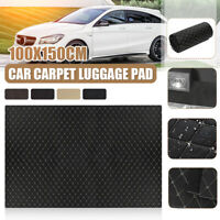 Car Floor Carpet Mat Trunk Luggage Pad Cover Waterproof Fiber Leather 100x150cm