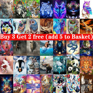 5D Diamond Painting Full Drill Embroidery Cross Craft Stitch Art Kits Home Decor