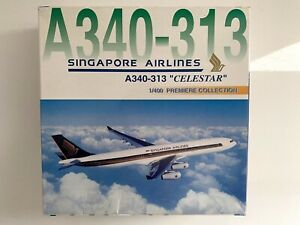 Dragon Wings 1:400 Singapore Airlines A340-300 Celestar