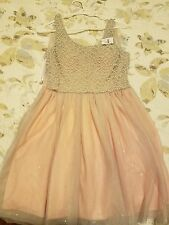 New Pink cocktail dress size 7