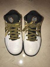 OG 2009 Nike Zoom Kobe IV 4 POP Playoffs Shoes Black Yellow Del Sol 354187-101