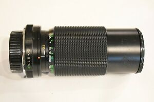 Vivitar Japan Minolta SR MD 70-210MM f/1:4.5 W/Caps & Case