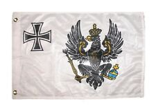 12x18 12''x18'' Prussia War Prussian War rough tex knitted boat flag banner