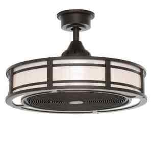 Home Decorators Collection Brette II 23 in. LED Indoor/Outdoor Ceiling Fan