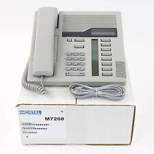 Nortel Norstar M7208 Gray Meridian Telephone Set - Top Quality Ref 1 Yr Warranty