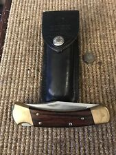 Vintage Buck 110 Lockback Folding Hunting Knife