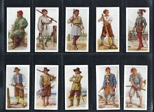 More details for carreras - history of naval uniforms - full set of 50 cards
