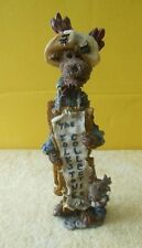 Boyds Folkstone Moose Figurine 1995 Siegfried And Egon.The Sign #2899