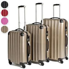 Kofferset Hartschalenkoffer Reisekoffer Set Trolley Koffer Hartschale 4 Rollen n