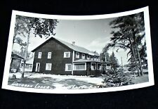 RPPC - Gongdon Lodge, Crane Lake, Minnesota Vintage Postcard