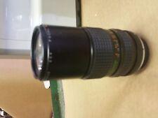 Focal MC Auto Zoom  1:4.5  f=80-200mm Lens Minolta