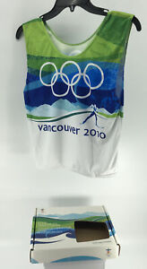 Vancouver Olympics  2010 Official Competition Bib
