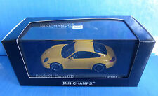 PORSCHE 911 997 II CARRERA GTS 2011 SPEED YELLOW MINICHAMPS 410060120 1/43 GELB