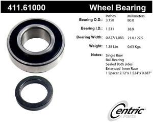 Axle Shaft Bearing-Premium Bearings Rear Centric 411.61000
