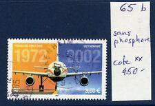 FRANCE 2002 Airbus A300 Yv PA 65b sans PHOSPHORE obl. Cote 450 RR