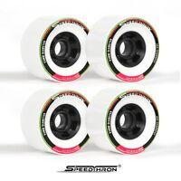 Longboard Rollen 83mm weiss / Longboard wheels 83mm white SpeedThron