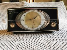 vintage Bulova clock radio model 140, mid-50's model