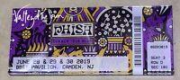 Phish PTBM 2019 Ticket Magnet Camden NJ New Jersey No Poster Frame Needed