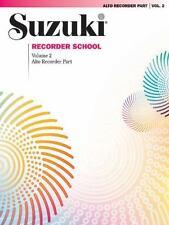 Alto Recorder: Recorder Parts (Suzuki Recorder School), , New Books