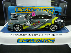 Scalextric C4182 1:32 Ford Mustang GT4 '19 British GT Champ' No.23