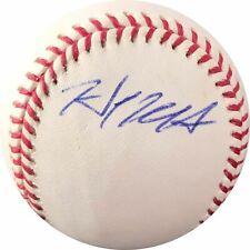 Hank Conger signed baseball JSA COA Tampa Bay Rays autographed