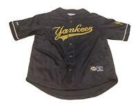 Genuine Merchandise Mirage New York Yankees MLB Jersey Blue Size L Baseball
