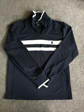 Izod Performance Men's Navy Pullover 1/4 Zip Shirt Jacket, S/P