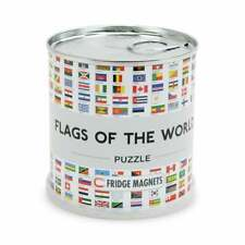 Flags of the World Magnetic Jigsaw Puzzle