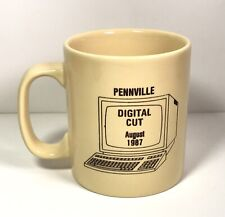 United Telephone System Pennville Indiana 1987 Digital Cut Computer Coffee Mug