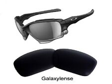 Galaxy Replacement Lenses For Oakley Jawbone Non-Vented Iridium Black Polarized