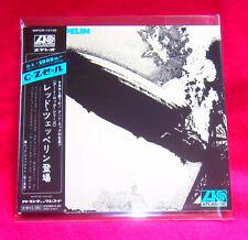 Led Zeppelin 1 SHM MINI LP CD JAPAN WPCR-13130 Led Zeppelin I