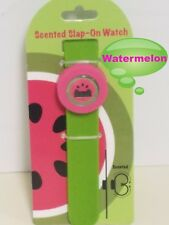 Accutime Watch Corp. Fruit Scented Slap-On Watch, Watermelon