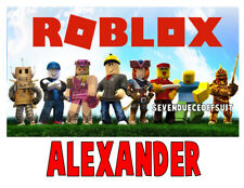 CUSTOM ROBLOX PERSONALIZED T SHIRT GAME T SHIRT ADD NAME  BIRTHDAY GIFT PARTY