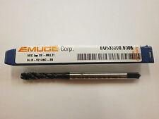 EMUGE 8-32 Spiral Flute MULTI-TAP 2B/3B High Performance Germany BU5332005006