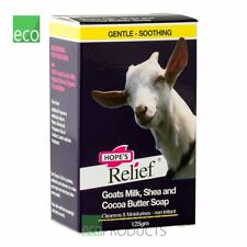Hopes Relief Natural Goats Milk Soap with Cocoa & Shea Butter 125g