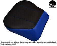 R BLUE & BLACK VINYL CUSTOM FITS HARLEY BRAKEOUT 13-16 SUNDOWNER REAR SEAT COVER
