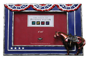 Trail of Painted Ponies FALLEN HEROES MEMORIAL PONY Photo Frame