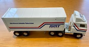Large NMT Northwest Mobile Television Toy TV Broadcasting Truck - VERY RARE!
