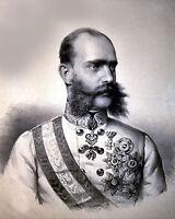 Franz Josef I -Emperor of Austria - King of Hungary-8x10 Photo