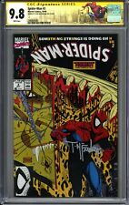 SPIDER-MAN 1990 #3 CGC 9.8 WP - Signed by Todd McFarlane - NYCC Spidey Label
