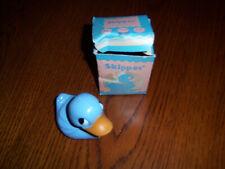 1 Vtg Htf adorable Kinckerbocker Skipper 50'S Blue Ducky Rattle Toy Decor
