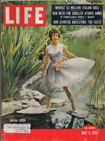 ORIGINAL Vintage Life Magazine May 6 1957 Sophia Loren