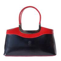 Borsa a mano Cuoio Pelle Leather Handbag Bag Italian Made In Italy 200 bkr