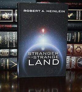 New Stranger in a Strange Land by Robert Heinlein Deluxe Hardcover Gift