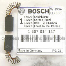 Bosch Carbon Brushes for GBH 2-24 DSR Drill Genuine Original Part 1 607 014 117
