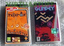 Patapon, Gunpey, Sony, PSP, ITA, EURO, Essential, Soft Set, Nuovi, New Sealed !