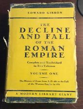 The Decline And Fall of the Roman Empire Vol I (Hardcover) Gibbon PreOwnedBook